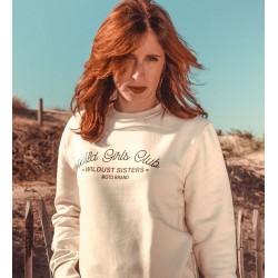 Sweatshirt coton Wild Girls...
