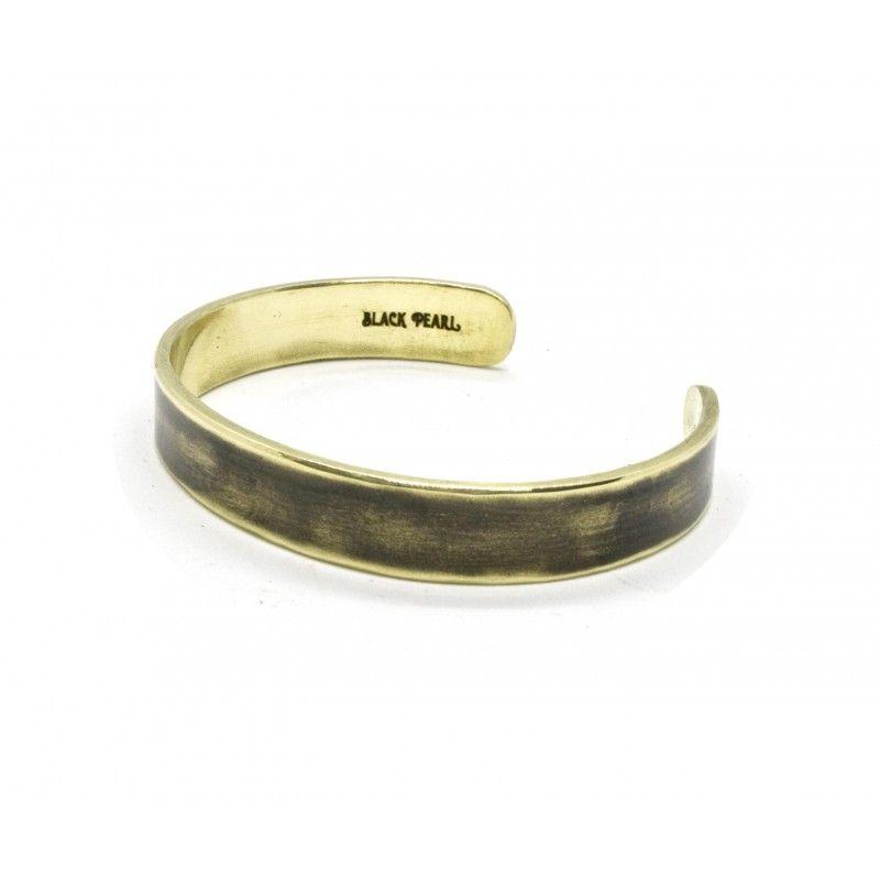 Bracelet Cuff laiton patiné