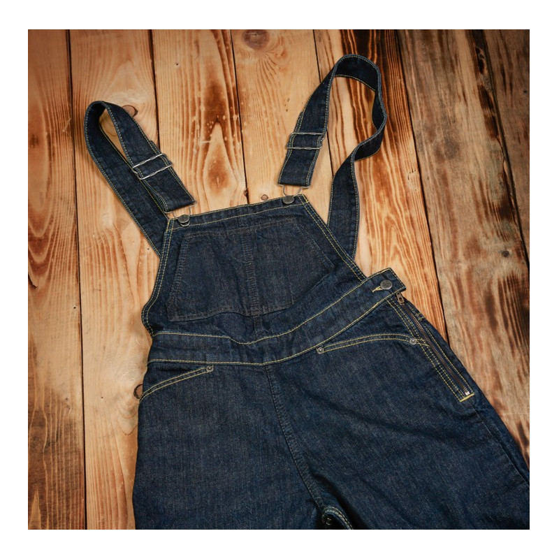 Salopette Denim Heather Bib 12,5oz Ann Sheppard