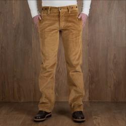 Pantalon velours moutarde...