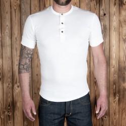 T-shirt Henley à...