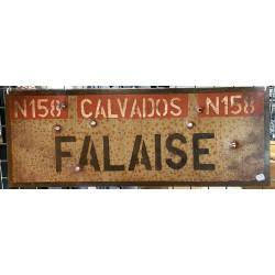 """Plaque métallique """"Falaise"""""""