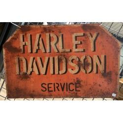 "Plaque métallique ""Harley..."