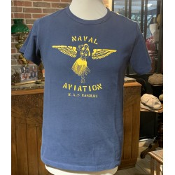 T-Shirt Naval Aviation bleu...