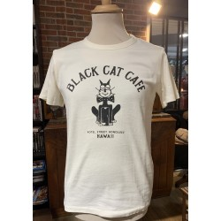T-Shirt Black Cat Café - In...