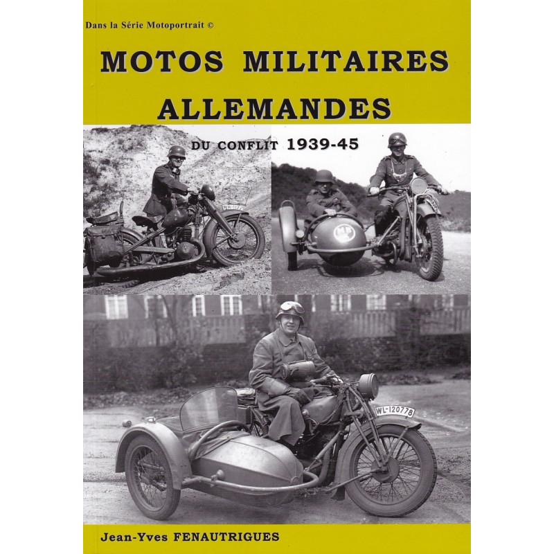 Motos militaires allemandes du conflit 1939-45