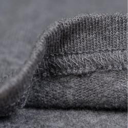 T-Shirt Manches longues et boutonnière 1954 Utility Shirt Long Sleeve grey melange