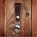 Porte-clés Cuir Marron Fonçé - 1965 Key Hanger dark brown