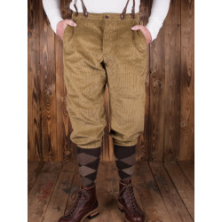Pantalon de Golf - 1927 Golfer Pant Heavy cord sand