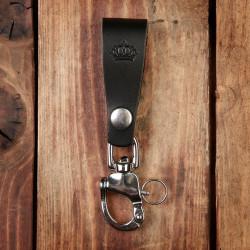 Porte-clés Cuir Noir - 1965 Key Hanger black