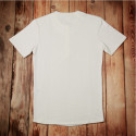 Tshirt à boutonnière manches courtes écru - Utility Shirt short Sleeve ecru