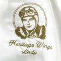 Foulard de pilote en soie - Heritage Wings Lady