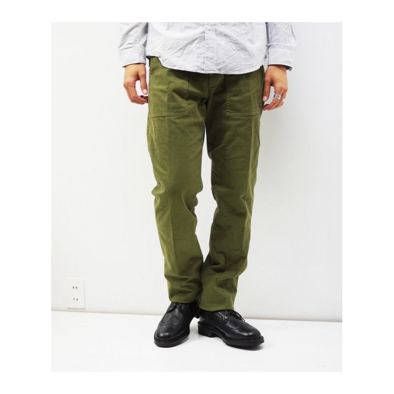 Pantalon de treillis type OG-107 vert kaki - Fatigue Pants Olive Drab by Manifattura Ceccarelli