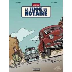 UNE AVENTURE DE JACQUES GIPAR, TOME 4 : LA FEMME DU NOTAIRE
