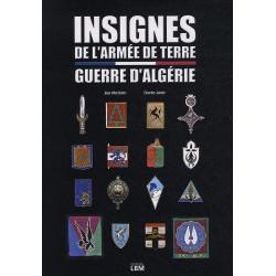 INSIGNES DE L'ARMEE DE TERRE : GUERRE D'ALGERIE