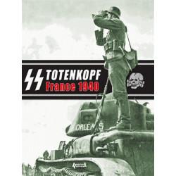 """Totenkopf 1940 - Fac-similé de Damals, la campagne de France de la division SS """"Totenkopf"""" en photos"""