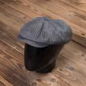 Casquette Newsboy Cap Grey Wabash 1928