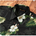 Chemise Hawaïenne - 1937 Roamer Shirt Short Sleeve Puuhuna black