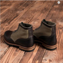 1952 Lowkinawa Boots Oliv Drab - Bottines cuir et toile