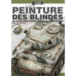 PEINTURE DES BLINDÉS DE LA SECONDE GUERRE MONDIALE