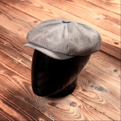 Casquette Newsboy HBT  brown