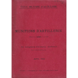 Munitions d'Artillerie Avril 2928