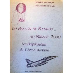 Du ballon de Fleurus au Mirage 2000 - Les responsables de l'arme aérienne