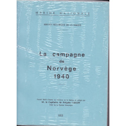 La Campagne de Norvège, 1940 - Ordres, Journal de Jarche et Cartes