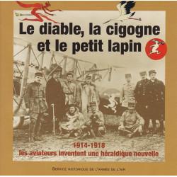 Diable, la cigogne et le petit lapin - 1914-18 : les aviateurs inventent une héraldique nouvelle