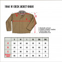 USN N1 Deck Jacket 1944