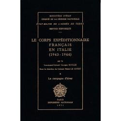 Le Corps expéditionnaire français en Italie, 1943-1944 (CEF). Tome 1, La campagne d'hiver