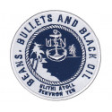 Patch brodé USN ServRon 10 - Ulithi Atoll brodé Beans, Bullets and Black Oil