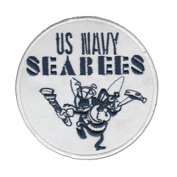Patch brodé US NAVY SEABEES