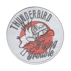 Patch brodé Thunderbird Flying Trouble