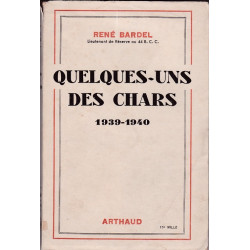 Quelques-uns des Chars 1939-1940