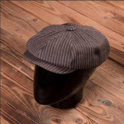 Casquette Pike Brothers 1928 Newsboy Cap Brown Wabash