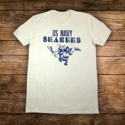 T-Shirt Seabees Vintage