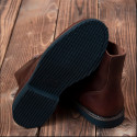Bottines cuir 1966 Low Quarters cognac oiled Pike Brothers