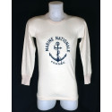 """T-Shirt manches longues """"Marine Nationale"""""""