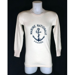 "T-Shirt manches longues ""Marine Nationale"""