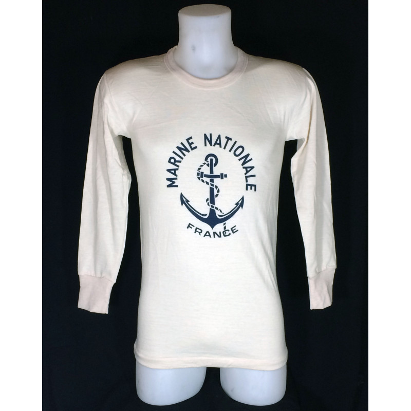 Marine Nationale Shirt Manches Longues Forties Factory T RjL345cqA