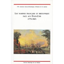 Marines française et britannique face aux Etats-Unis, de la guerre d'Indépendance à la guerre de Sécession, 1776-1865