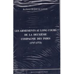 Armements au long cours de la deuxième compagnie des Indes, 1713-1773