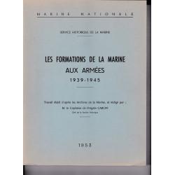 Les Formations de la marine aux armées, 1939-1945