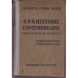 Histoire Contemporaine depuis le milieu du XIXe siècle - 1930