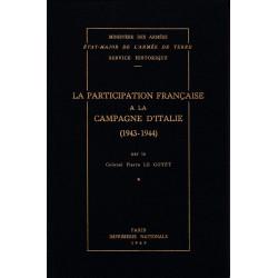 La participation française à la campagne d'Italie, 1943-1944