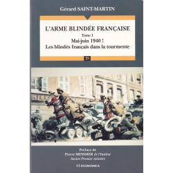 L'arme blindée française tome 1