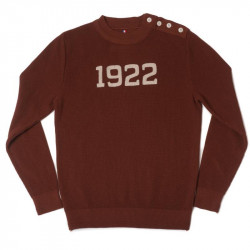 "JERSEY ""1922"" MARRON BRIQUE - A Piece of Chic"