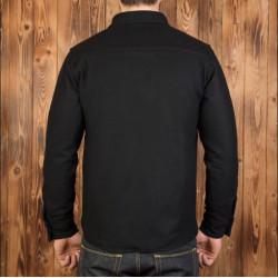 Chemise de pont en laine noir - 1943 USN CPO Shirt Black Wool Pike Brothers