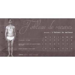 """CARDIGAN 100% pure laine """"L'Enfant  du Malheur"""" - Fleurs de Bagne"""
